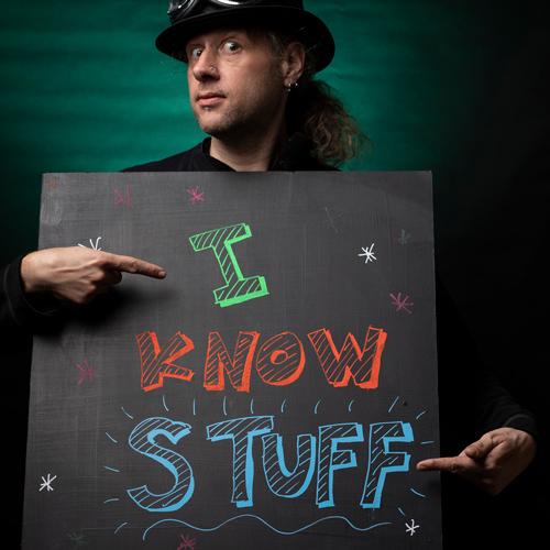 Self-Portrait: I know stuff