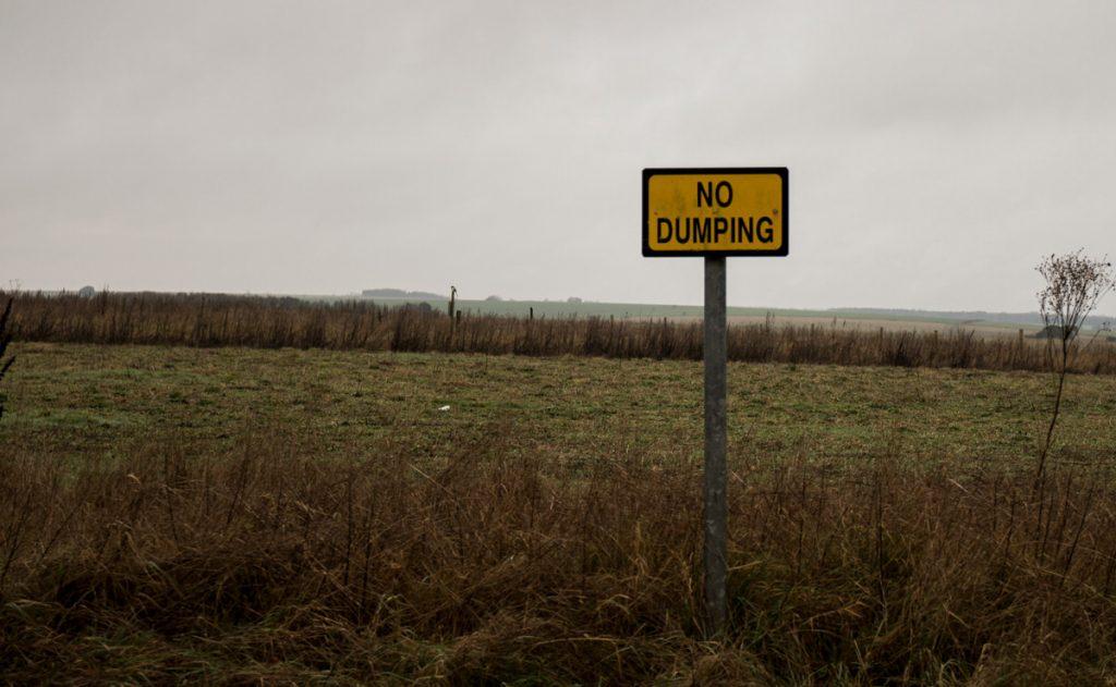 Salisbury Plain - No Dumping