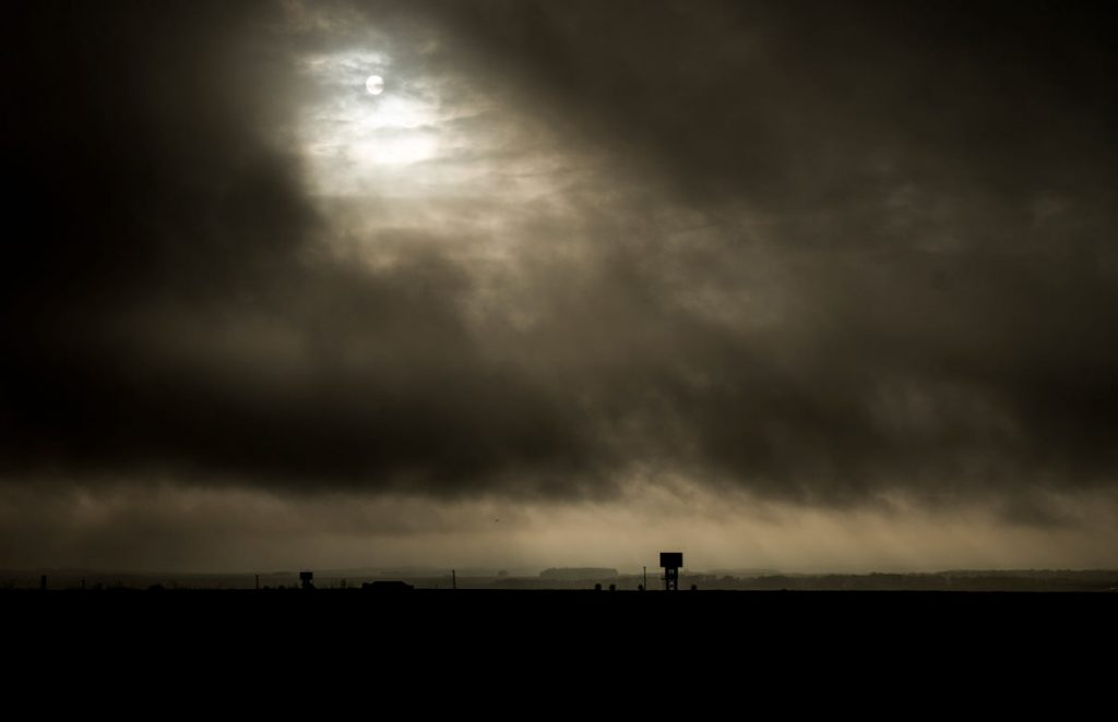 Salisbury Plain - The skies speak to me