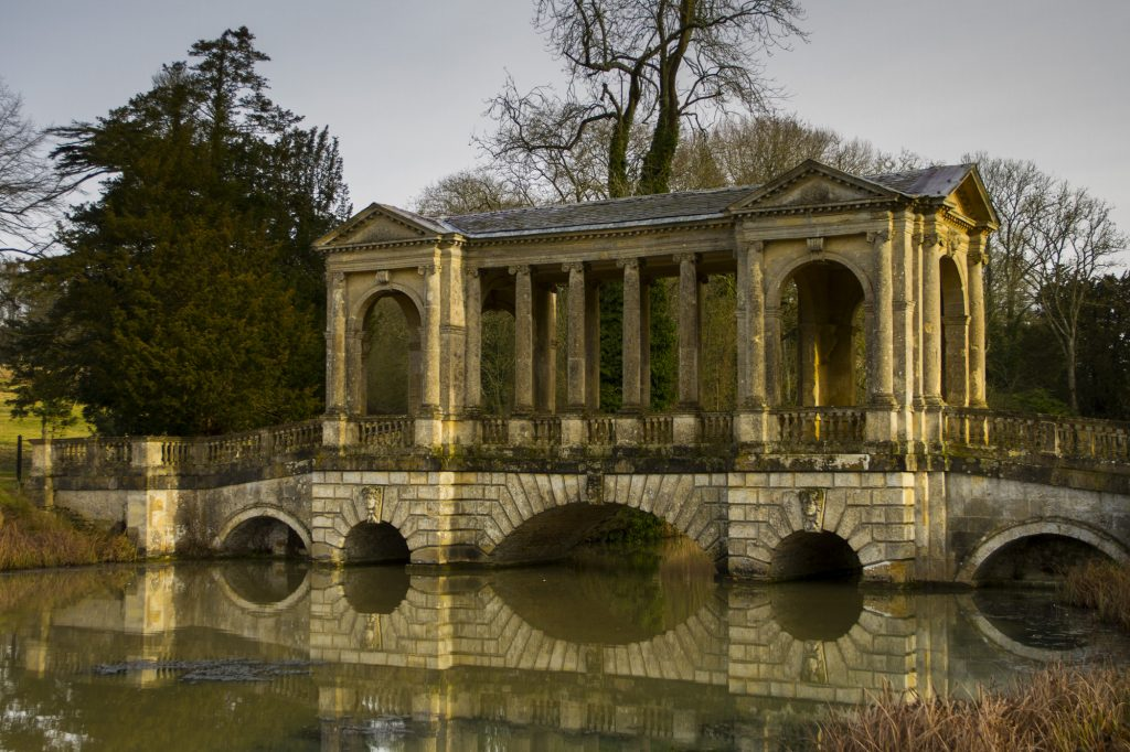 Stowe Landscape Gardens - The Palladian Bridge