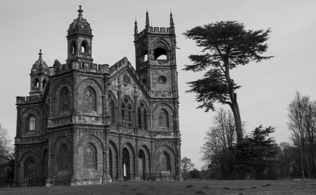 Stowe Landscape Gardens - The Gothic Temple
