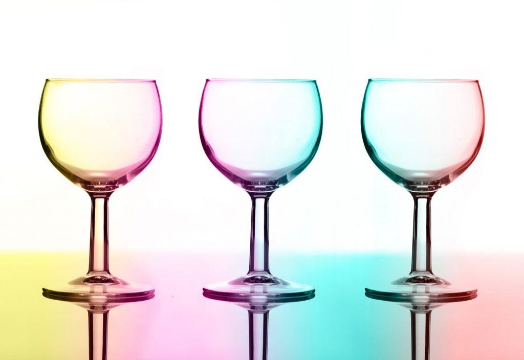Three Glasses - Colour Test